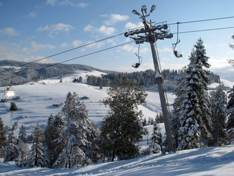 Arena narciarska Jaworki Homole